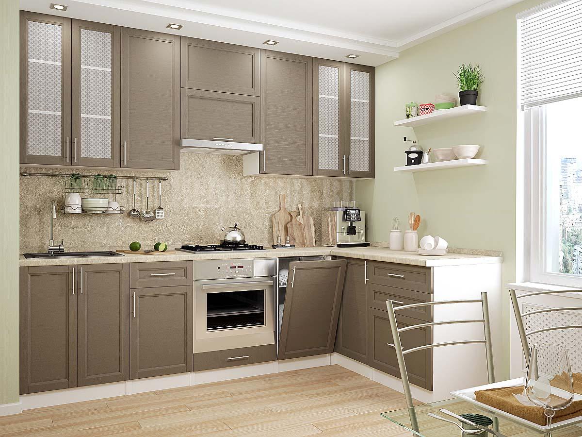 Фото кухни песочного цвета