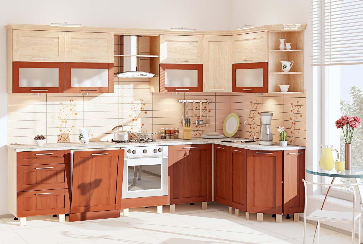 Каталог кухонь с размерами и фото